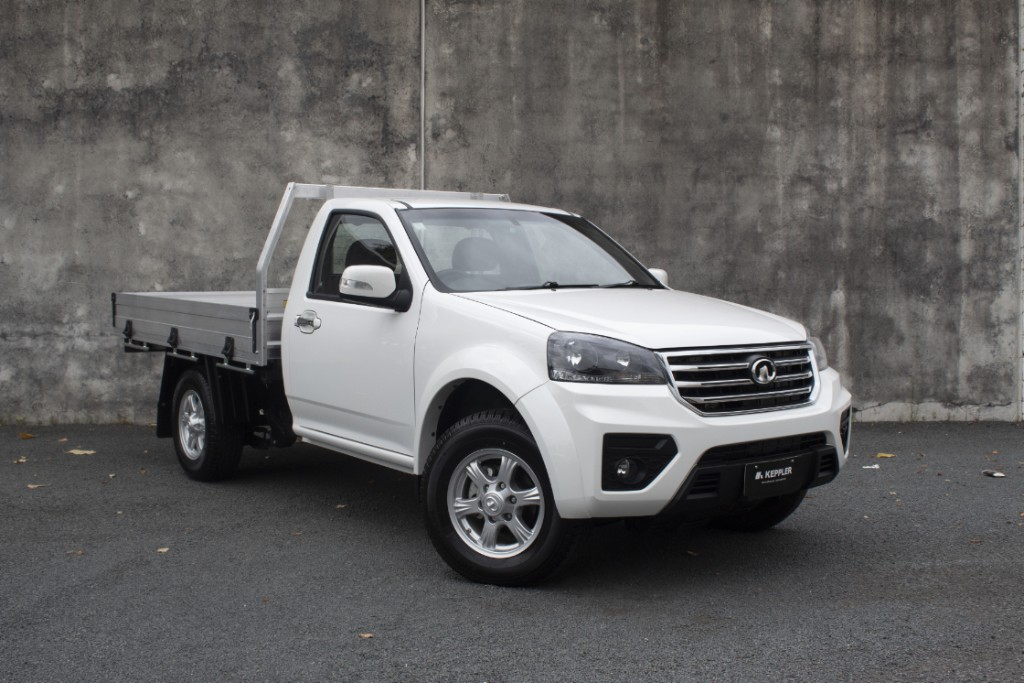 2020 Great Wall Steed 4x4 Single Cab Alloy Tray