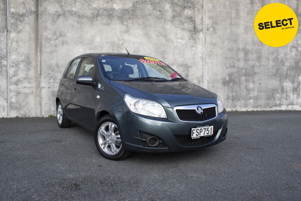 2011 Holden Barina 5dr Manual NZ NEW