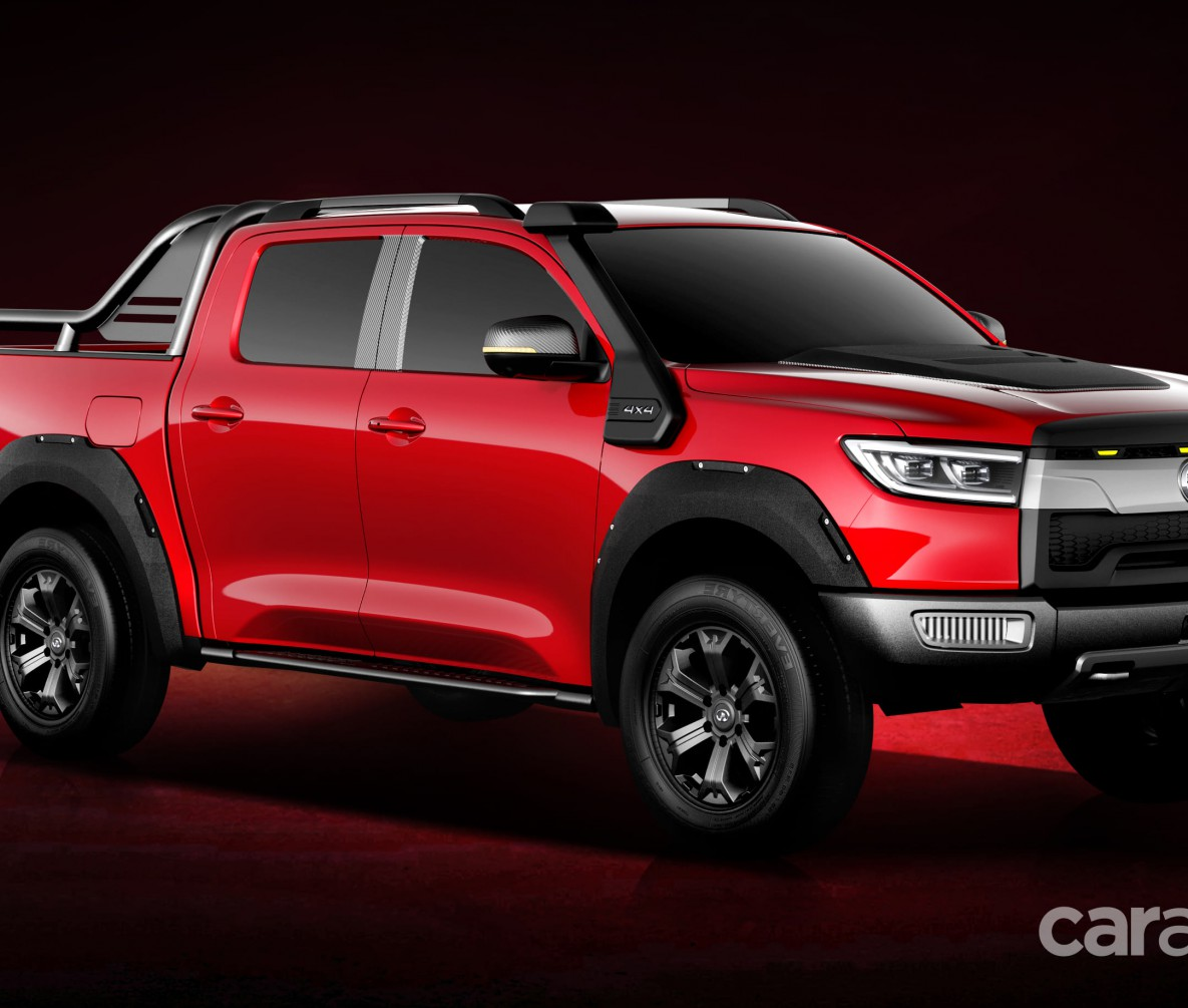 GWM Cannon Electric ute red