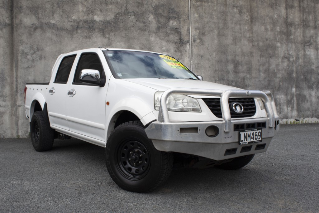 2012 Great Wall V200 4x4 Diesel