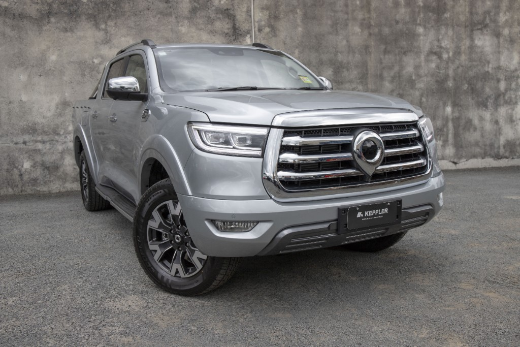 2021 Great Wall Cannon 4x4 LUX 8A 3.0T towing